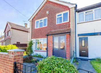 Thumbnail 2 bed end terrace house for sale in Valerian Close, Chatham