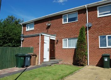 Thumbnail 1 bed flat for sale in Worthing Close, Wallsend