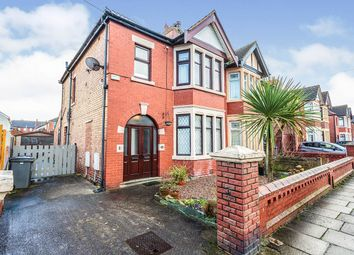 Thumbnail 2 bed flat for sale in Woodstock Gardens, Blackpool, Lancashire