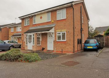 Thumbnail 2 bed semi-detached house for sale in Coleford Road, Thurmaston