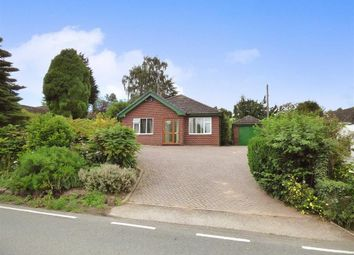 Thumbnail 3 bed detached bungalow for sale in Cobbs Lane, Hough, Crewe