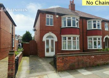 Thumbnail 3 bed semi-detached house for sale in Welbeck Road, Bennetthorpe, Doncaster.
