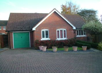 Thumbnail 3 bed detached bungalow for sale in Yew Tree Hollow, Long Stratton, Norwich