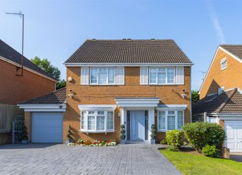 Thumbnail 4 bed detached house for sale in Shiremead, Elstree, Borehamwood