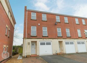 Thumbnail 3 bedroom town house for sale in Kenyon Crescent, Bury, Lancashire