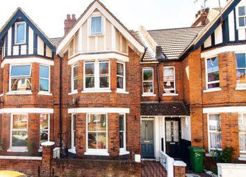 Thumbnail 3 bed terraced house for sale in Bradstone Avenue, Folkestone
