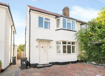 Thumbnail 4 bed semi-detached house to rent in Cambridge Road, New Malden