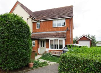 Thumbnail 3 bedroom end terrace house for sale in Draymans Way, Ipswich