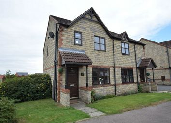 Thumbnail 3 bed semi-detached house for sale in Overmoor View, Tibshelf, Alfreton, Derbyshire