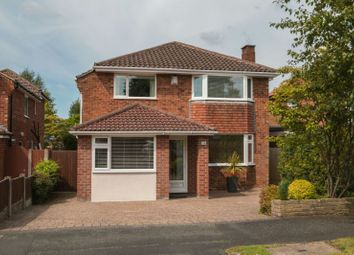 Thumbnail 4 bed detached house for sale in Glastonbury Avenue, Hale, Altrincham