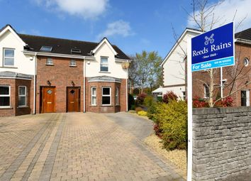 Thumbnail 3 bed semi-detached house for sale in Grand Prix Park, Dundonald, Belfast