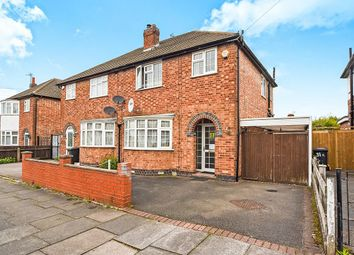 Thumbnail 3 bed semi-detached house for sale in Baldwin Road, Leicester