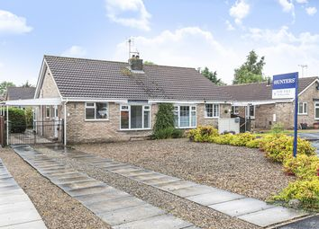 Thumbnail 2 bed semi-detached bungalow for sale in Garrowby View, Stamford Bridge, York