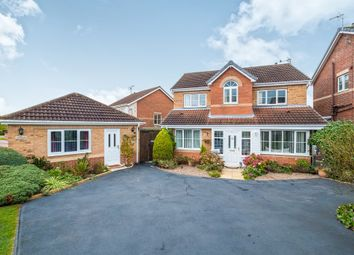 Thumbnail 4 bed detached house for sale in Wellesley Close, Worksop