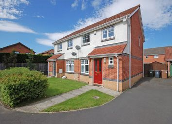 Thumbnail 3 bed semi-detached house for sale in Corbridge Court, Longbenton, Newcastle Upon Tyne