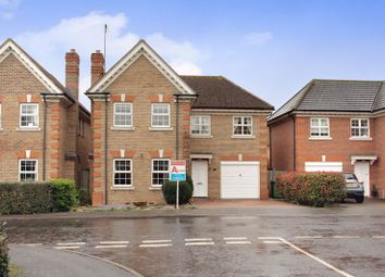 Thumbnail 4 bedroom detached house for sale in Caxton Way, Romford