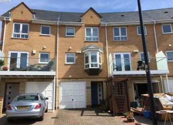 Thumbnail 3 bed town house to rent in Chandlers Way, Penarth