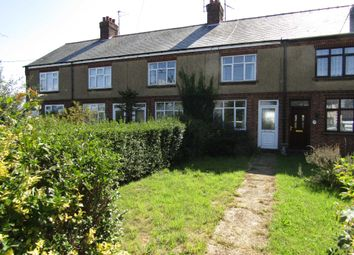 Thumbnail 2 bedroom terraced house to rent in Upwell Road, March
