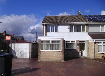 Thumbnail 3 bed semi-detached house to rent in Blakedon Road, Wednesbury