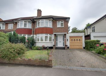 Thumbnail 3 bed semi-detached house for sale in Hoppers Road, Winchmore Hill
