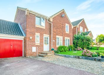 Thumbnail 3 bed detached house for sale in Pickford Close, North Walsham