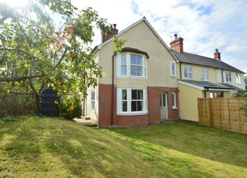 Thumbnail 3 bed semi-detached house for sale in The Street, Birdbrook, Halstead