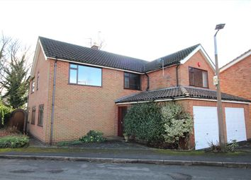 Thumbnail 4 bed detached house for sale in Ayscough Avenue, Nuthall, Nottingham
