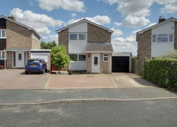 Thumbnail 3 bed detached house for sale in Wisteria Road, Yaxley, Peterborough