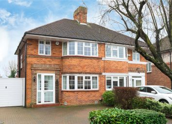 Thumbnail 3 bed semi-detached house for sale in Howberry Close, Canons Park, Edgware