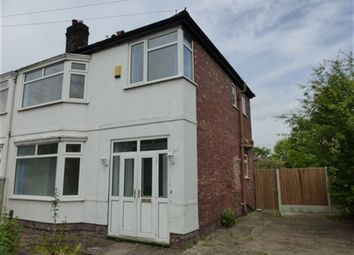 Thumbnail 3 bed property to rent in Longford Road, Chorlton, Manchester
