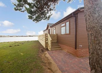 Thumbnail 2 bedroom lodge for sale in Lake View, Tallington, Stamford