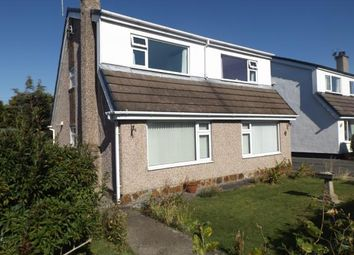 Thumbnail 3 bed detached house for sale in Taldrwst Estate, Dwyran, Anglesey