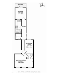 Thumbnail 3 bed flat to rent in Park Road, Kingston