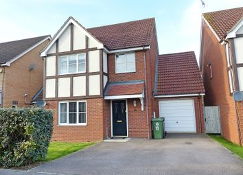 Thumbnail 4 bed detached house for sale in Edison Drive, Yaxley, Peterborough, Cambridgeshire.