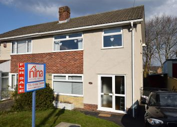 Thumbnail 3 bed semi-detached house for sale in Field View Road, Barry