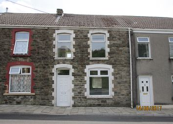 Thumbnail 3 bed terraced house to rent in Caerau Road, Maesteg, Bridgend.
