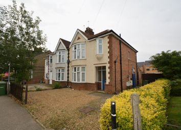 Thumbnail 1 bed block of flats for sale in Aldermans Drive, Peterborough