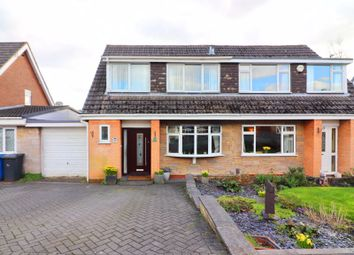 Thumbnail 3 bed semi-detached house for sale in Wyre Drive, Boothstown, Worsley