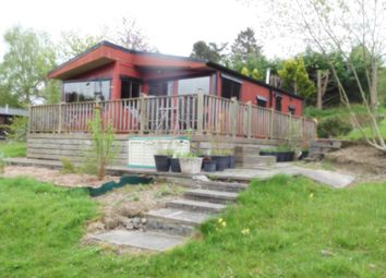 Thumbnail 2 bed mobile/park home for sale in Caerberis Park, Builth Wells