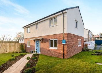 Thumbnail 4 bed detached house for sale in Nightingale Close, Sherford, Plymouth