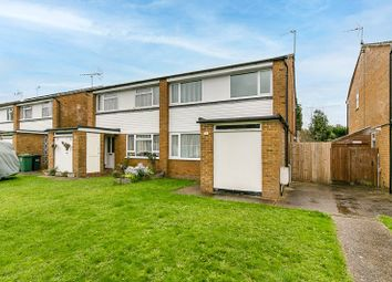 Thumbnail 3 bed semi-detached house for sale in Mill Close, Horley, Surrey