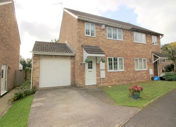 Thumbnail 3 bed semi-detached house for sale in Ffordd Y Parc, Litchard, Bridgend.