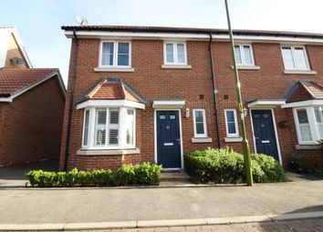 Thumbnail 3 bed property to rent in Aldermere Avenue, Cheshunt, Hertfordshire