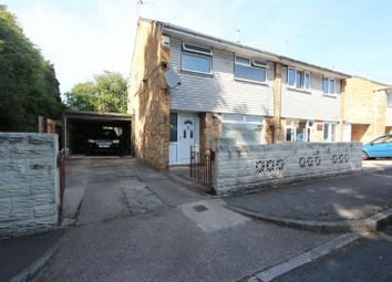 Thumbnail 3 bed semi-detached house for sale in Norwood Crescent, Barry