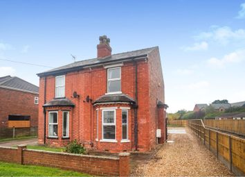 Thumbnail 3 bed semi-detached house for sale in Station Road, North Hykeham