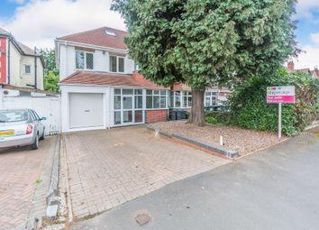 4 bed semi-detached house for sale in Quinton Road, Harborne, Birmingham B17