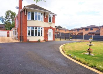 Thumbnail 3 bed detached house for sale in Holt Road, Wrexham