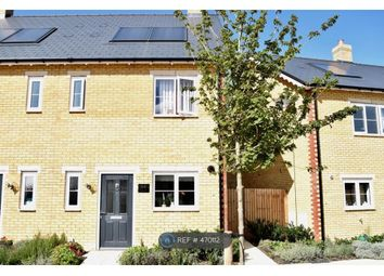 Thumbnail 2 bed end terrace house to rent in North Lodge Park, Milton, Cambridge