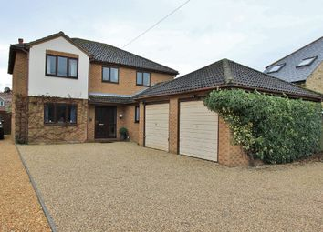 Thumbnail 5 bedroom detached house for sale in High Street, Rampton, Cambridge