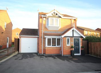 Thumbnail 3 bed detached house for sale in Livia Close, Hinckley